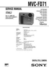 Buy Sony MVC-CD250-CD400_L1-2-3 Service Manual by download Mauritron #194082