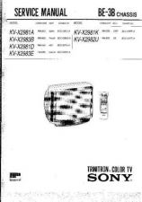 Buy Sony BE-3B CHASSIS Service Manual by download Mauritron