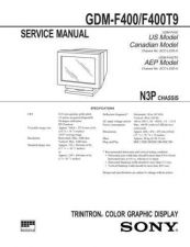 Buy SONY GDM-F400 Service Manual by download #166885