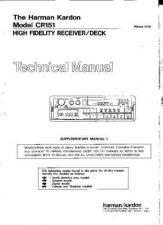 Buy HARMAN KARDON 702VXA TS Service Manual by download #141997