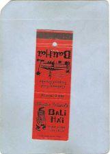 Buy CA San Diego Matchcover Tiki Bali Ha'I Point Loma~81