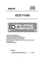 Buy Sanyo ECD-T1137S(OM) Manual by download #174212