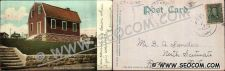 Buy CT New London Postcard Nathan Hale School House Undivided Back ct_box4~2068