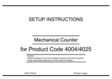 Buy Konica UNPACKMECHCOUNTER Service Schematics by download #136513