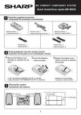 Buy SHARP MDMX20 GUIDE by download #128774