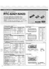 Buy SEMICONDUCTOR DATA RTC-72423BJ Manual by download Mauritron #190023