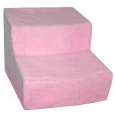 Buy Pet Gear Soft Step II Pet Stairs with Removable Cover Pink