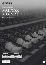 Buy Yamaha MGP16X EN OM C0 Operating Guide by download Mauritron #204847