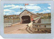 Buy CAN Hartland Covered Bridge Postcard Longest Covered Bridge In The World O~24