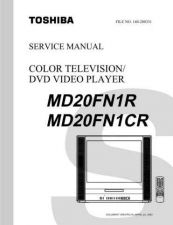 Buy TOSHIBA MD20FN1R MD20FN1CR SVCMAN Service Schematics by download #160186