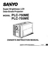 Buy Sanyo PLC-5605B-01 Manual by download #174700