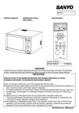 Buy Sanyo Service Manual For EM-G400-doors Manual by download #175794