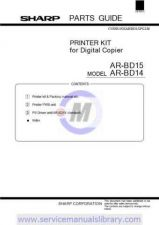 Buy Sharp ARC100-150-250 PG PART1 GB-JP Manual by download #179489
