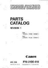 Buy CANON C330D 250D PC Service Manual by download #137695