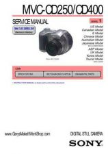 Buy Sony MVCCD200_300_L2_V1 Service Manual by download Mauritron #194077
