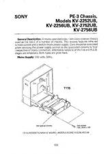 Buy SONY KV-2252 2256 2752 2756 Service Manual by download #153534