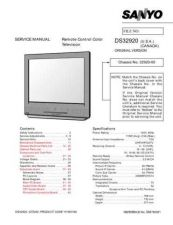 Buy Sanyo DS32920(OM) Manual by download #174089