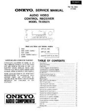 Buy TX-DS575 Service Manual by download Mauritron #191687