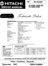 Buy HITACHI VT430E VT431E VT435E by download #126424