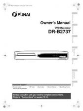 Buy Funai DR-B2737 E68C5BD EN 0401 Owners User Guide Operating by download #162019