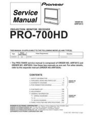 Buy PIONEER a3013 Service Data by download #152362