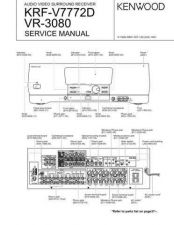 Buy KENWOOD KRF-V7030D V7030DS V8030D V8030DS VR-407 409 Technical Info by download