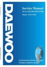 Buy DAEWOO MON518XSVC 1 Manual by download Mauritron #184907