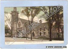 Buy CT Ansonia Christ Episcopal Church Street Scene ct_box1~9