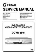 Buy Funai DCVR-5804 H97A2ED SERVICE MANUAL Service Schematics by download #161619