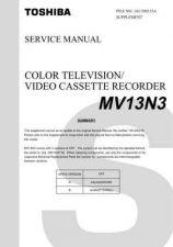 Buy TOSHIBA MV13N3 SUMMARY Service Schematics by download #160235