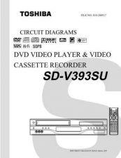 Buy TOSHIBA SDV395 SVCMAN Service Schematics by download #160459