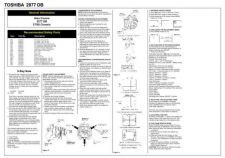 Buy Toshiba 2877DB Service Manual by download #149855