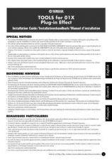 Buy Yamaha 01XEFG2 Operating Guide by download Mauritron #204332