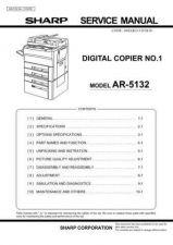 Buy Sharp AR5015N-5020 SM GB(1) Manual by download #170085