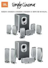 Buy INFINITY SERVICE MANUAL SCS200-260(3) Service Manual by download #147796