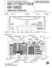 Buy KENWOOD KRF-V7030D V8030D VR407 VR409 Technical Info by download #151975