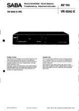 Buy SABA VR6540 by download #128644