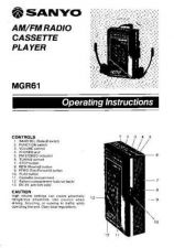 Buy Sanyo MGP40R Operating Guide by download #169429