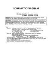 Buy TOSHIBA 36AFX61 CD Service Schematics by download #159945