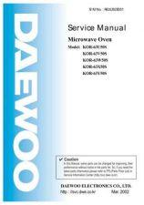Buy Daewoo R63MC3S001 Manual by download #168902
