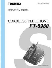 Buy TOSHIBA FT 8980 Service Schematics by download #160128