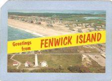 Buy DE Fenwick Island Lighthouse Postcard Greetings from Fenwick Island showin~114