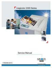 Buy MINOLTA QMS MAGICOLOR 2300 SERVICE MANUAL by download #148545