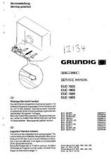Buy GRUNDIG CUC1890 SERVICE MANUAL by download #153860