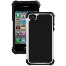 Buy Ballistic Iphone 4 And 4s Sg Case (black Silicone And Black Tpu And White Pc)