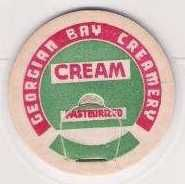 Buy CAN Parry Sound Milk Bottle Cap Name/Subject: Georgian Bay Creamery Cream~93