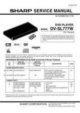 Buy Sharp 608 DV-SL777W Manual by download #178727