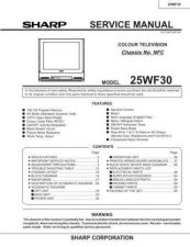 Buy Sharp 25RM100 SM GB(1) Manual by download #169832