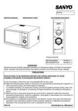 Buy Sanyo Service Manual For EM-S153 colours Manual by download #175860
