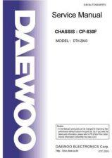 Buy Daewoo DTH-29U3 (E) Service Manual by download #154788